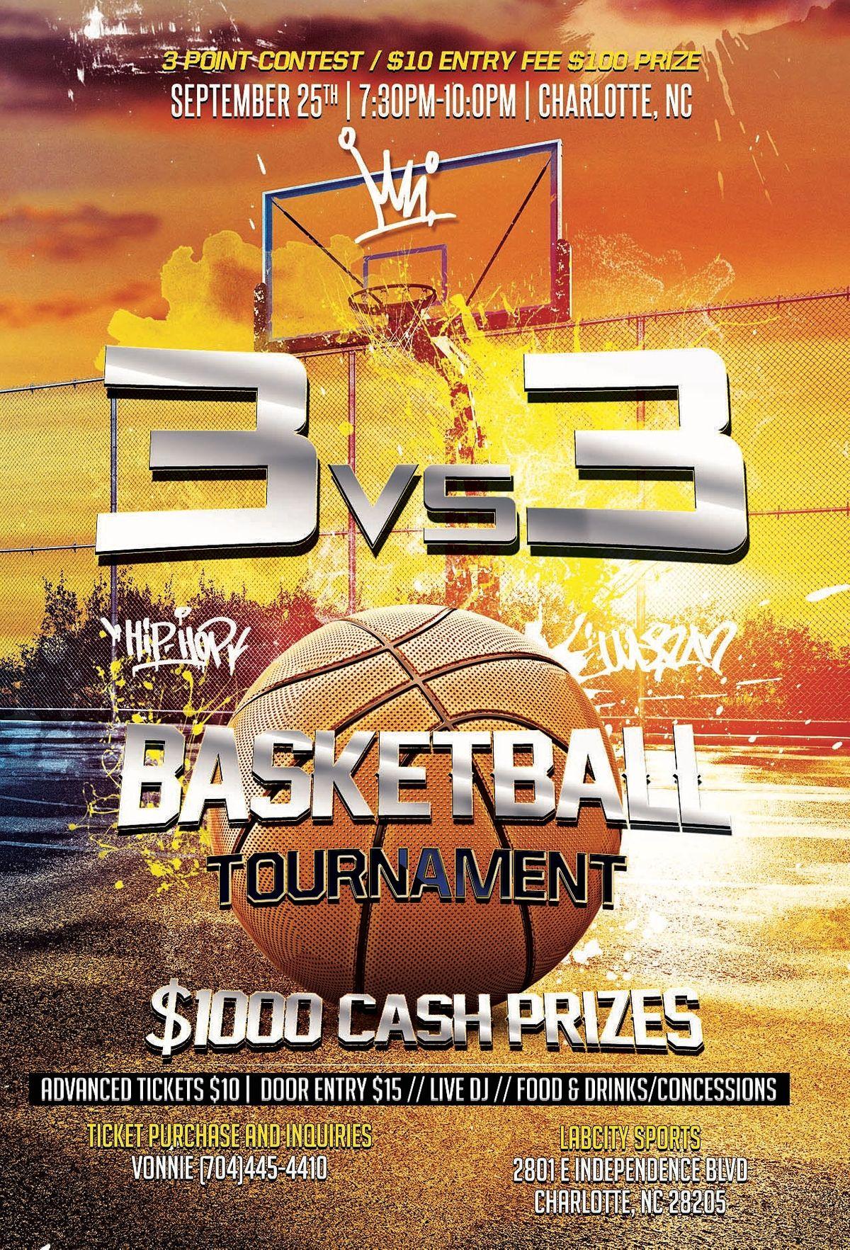3vs3 Basketball Tournament