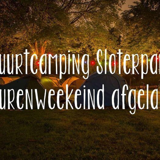 AFGELAST: Buurtcamping Sloterpark 2021