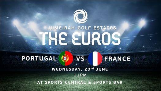 Portugal vs France - THE EUROS