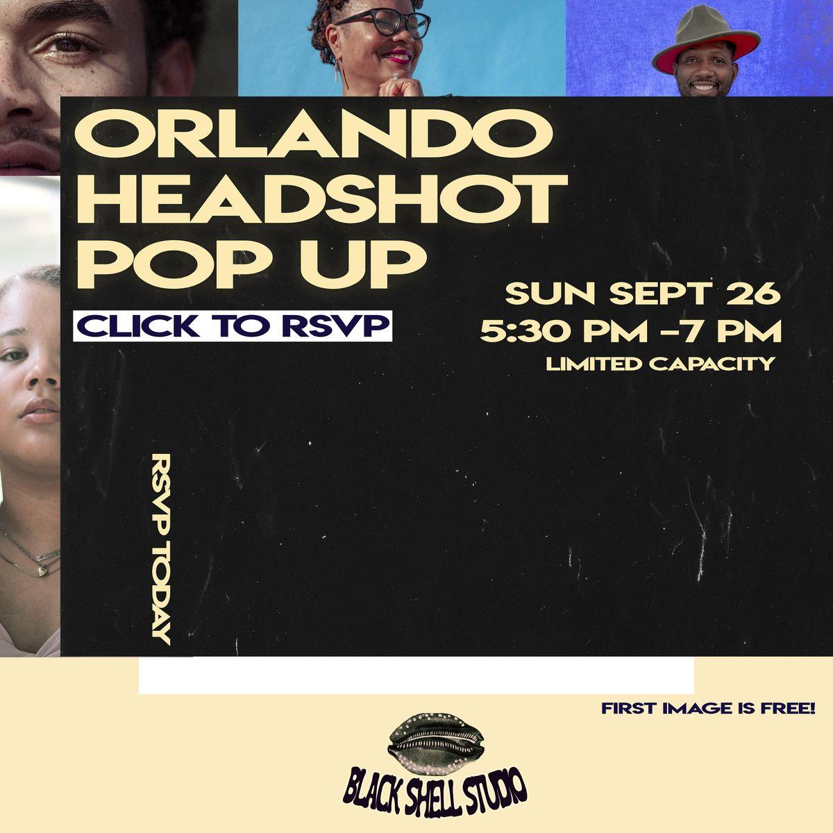 Headshot Pop-Up (Orlando)