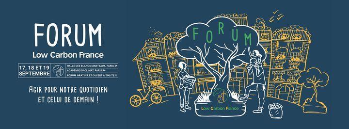 Forum Low Carbon France #3