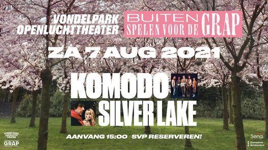 Komodo I Silver Lake in het Vondelpark Openluchttheater