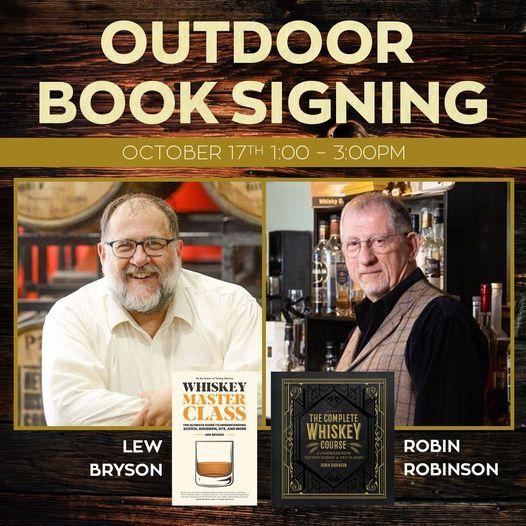 Outdoor Book Signing w\/ Lew Bryson & Robin Robinson