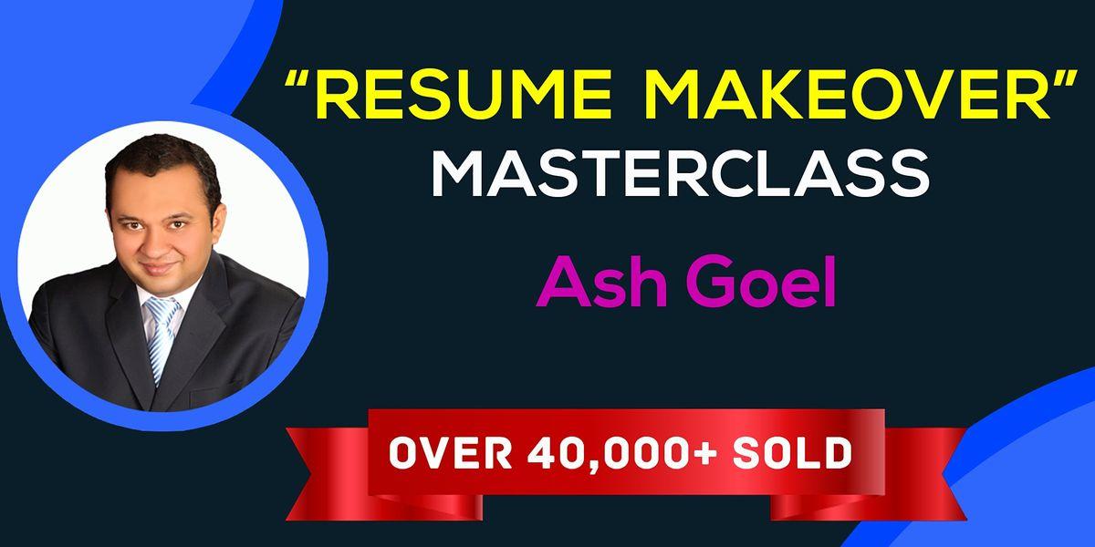 The Resume Makeover Masterclass  \u2014 Hamburg