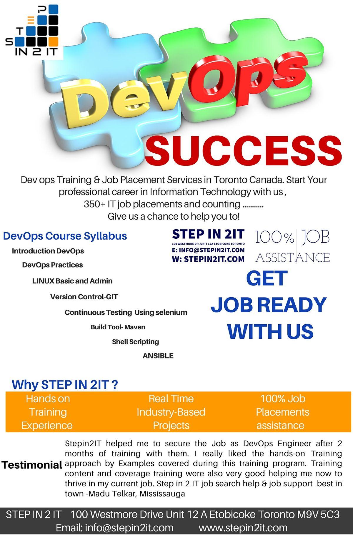 DevOps Training For New Graduates