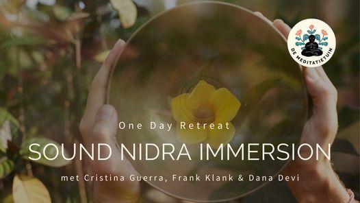 SOUND NIDRA IMMERSION   with Cristina, Dana & Frank