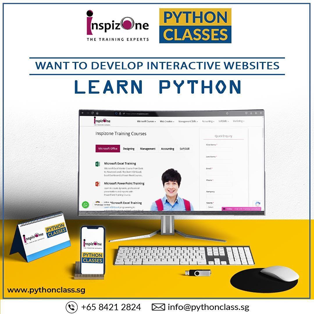 Best Python Web Development Course Singapore - Python Classes