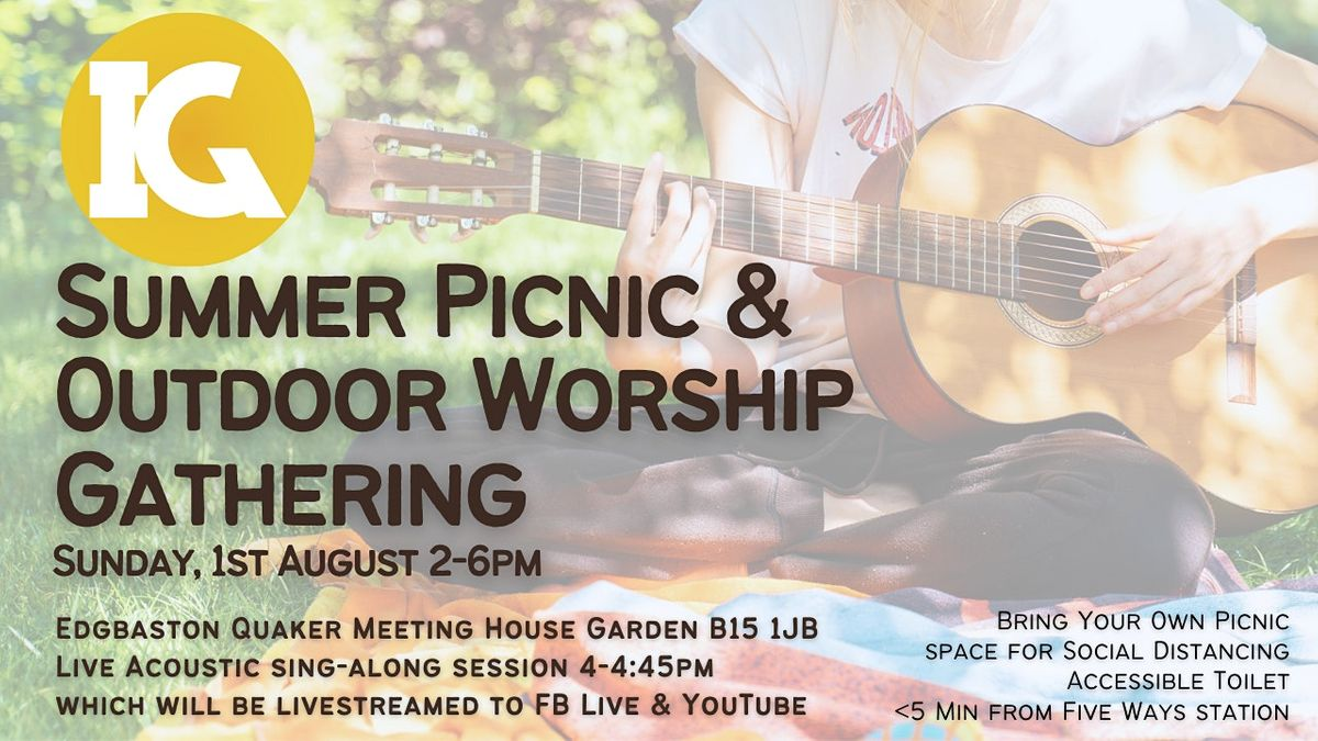 August Inclusive Gathering - Summer Picnic & Outdoor Worship