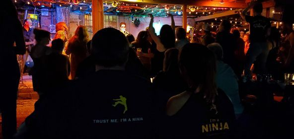 Graceland Ninjaz at Lee Harvey's