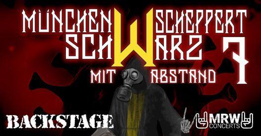 """M\u00fcnchen Scheppert Schwarz 7 - """"Abstandskonzert""""   Backstage M\u00fcnchen"""