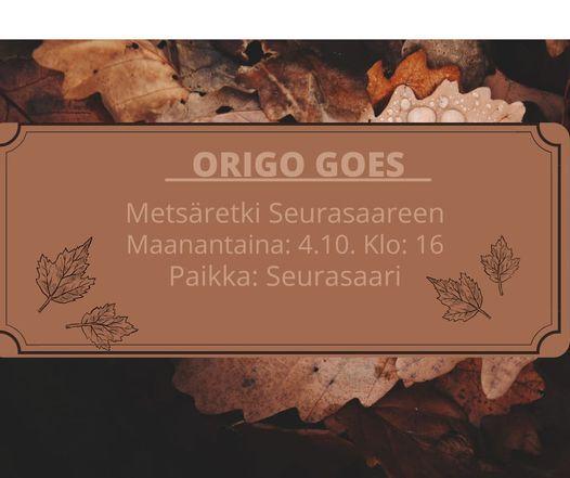 Origo goes Seurasaari