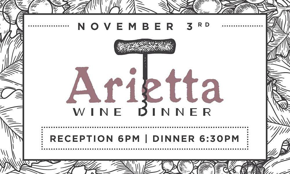 Arietta Winemaker Dinner at Heaton's Vero Beach!