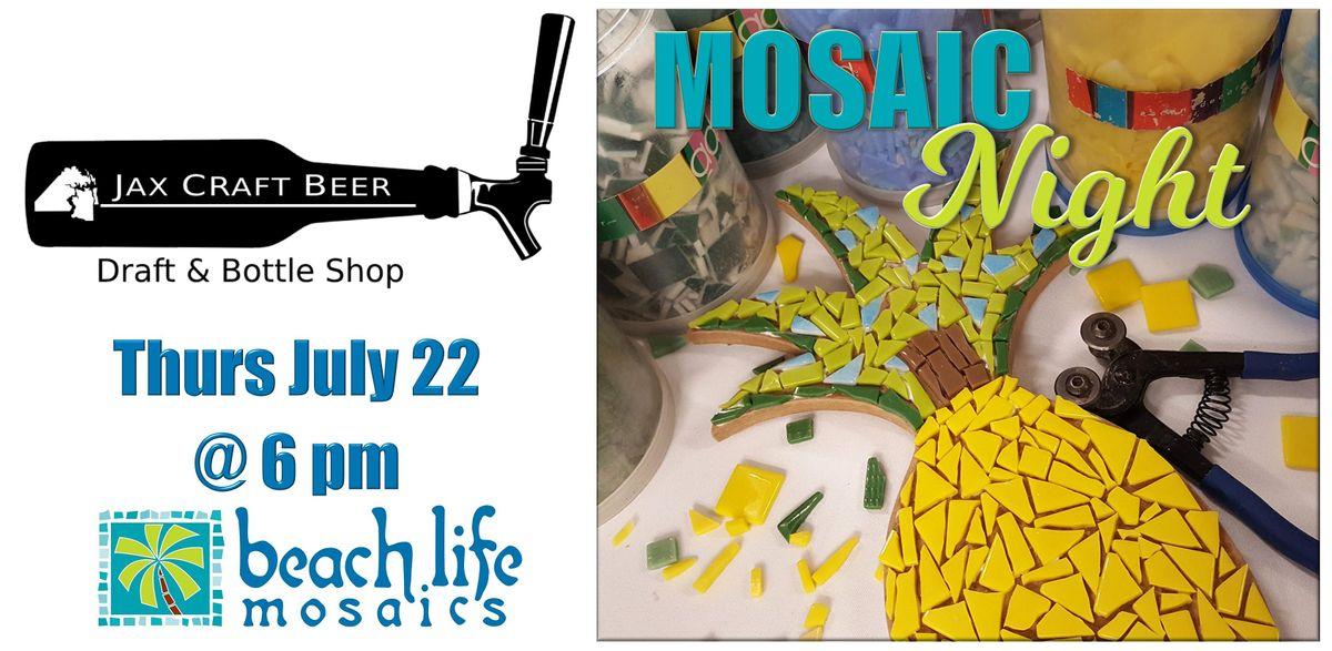 Crafts & Drafts: Mosaic Night in Jacksonville
