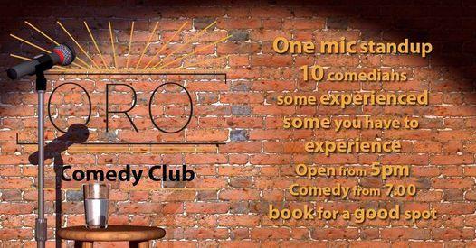 Oro comedy club