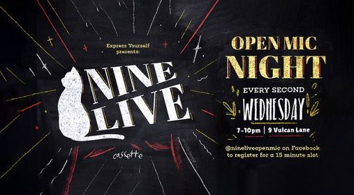 Nine Live Open Mic Night