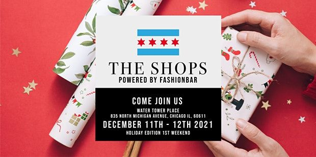 VEND @ The Shops! December 2021 - A Holiday Pop-Up (1st Weekend)