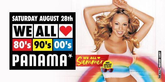 We All Love 80's 90's 00's - Panama - Amsterdam