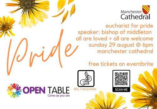 Eucharist for Manchester Pride