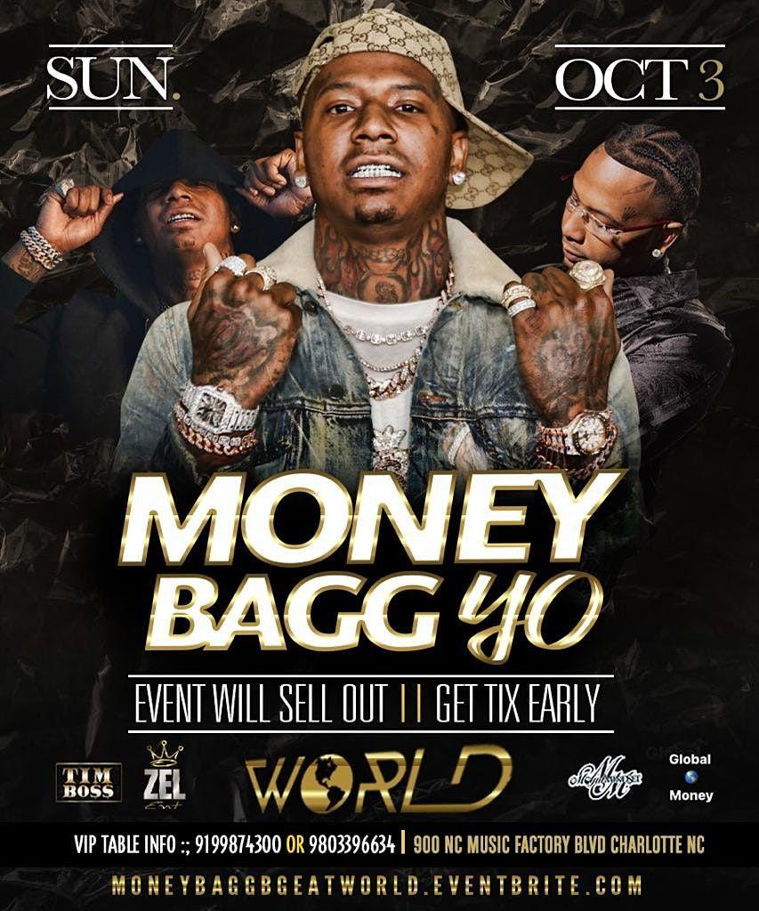 Moneybagg yo at world