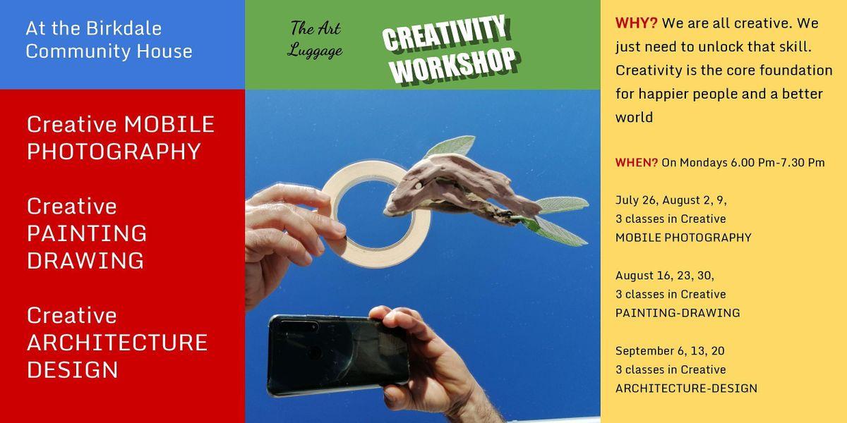 The Art Luggage Creativity Workshop