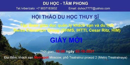 H\u1ed9i Th\u1ea3o Du H\u1ecdc Th\u1ee5y S\u0129-T\u1eadp \u0111o\u00e0n gi\u00e1o d\u1ee5c Th\u1ee5y S\u0129 Swiss Education GroupG