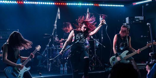 Ramonas (All Female Ramones Tribute) Play 45 Years  of the Ramones Support From Split Dogs
