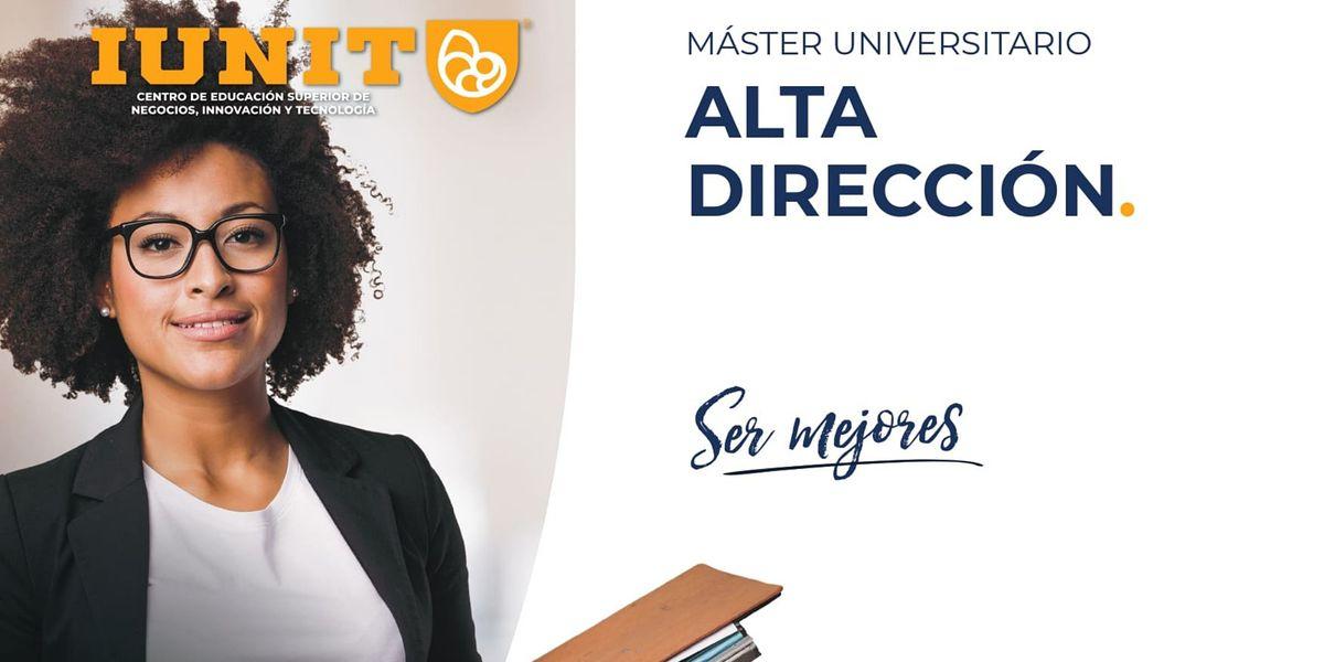 M\u00e1ster Universitario en Alta Direcci\u00f3n 2021-2022