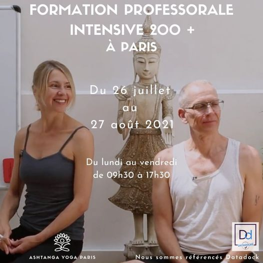 Ashtanga Vinyasa Teacher Training 200h in Paris2021