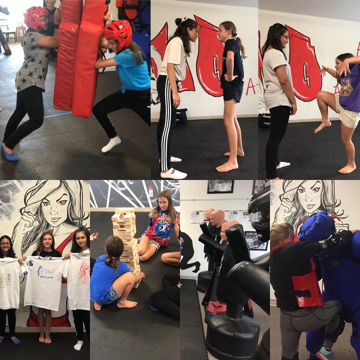 Girls Fight Summer Camp - June 28-July 2, 9:30am-3pm