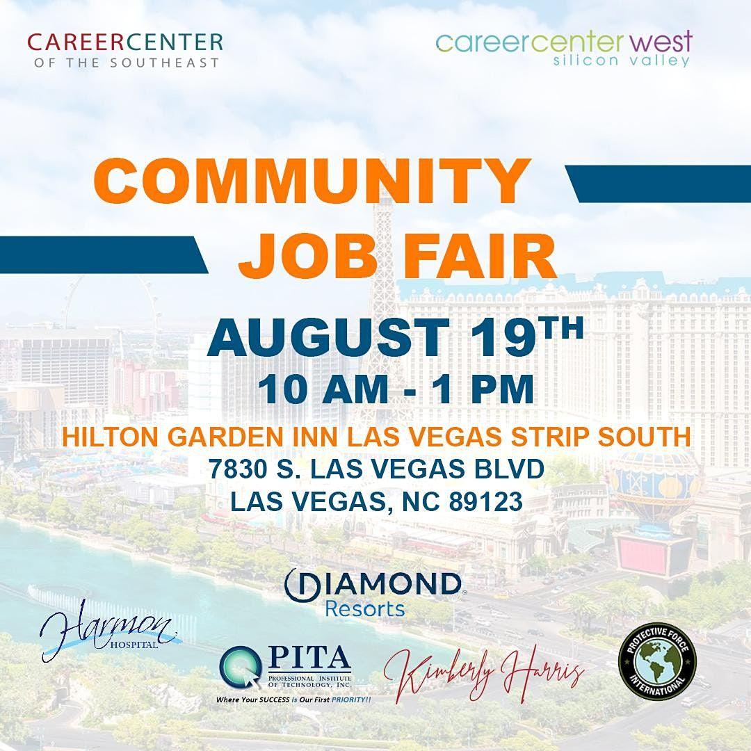Free Job Fair and Community Day.  Las Vegas!