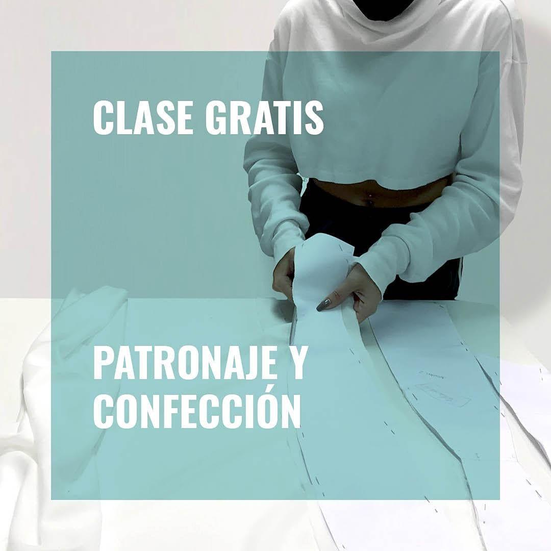 Clase Gratis de Patronaje y Confecci\u00f3n