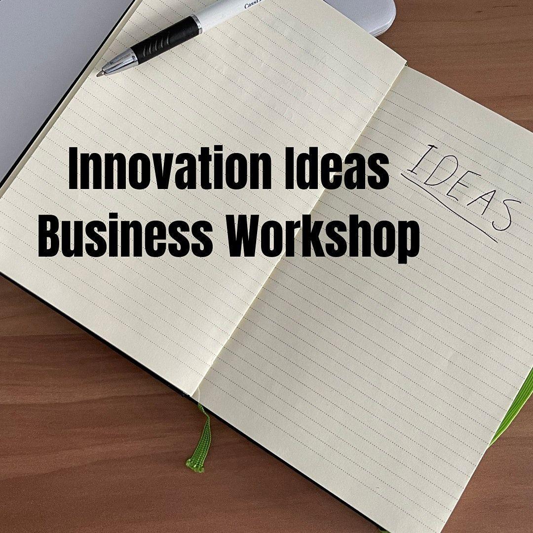 Innovation Ideas Business Workshop