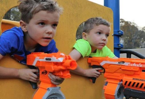 NERF WARS are BACK!