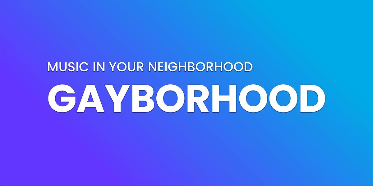 Music in Your Neighborhood