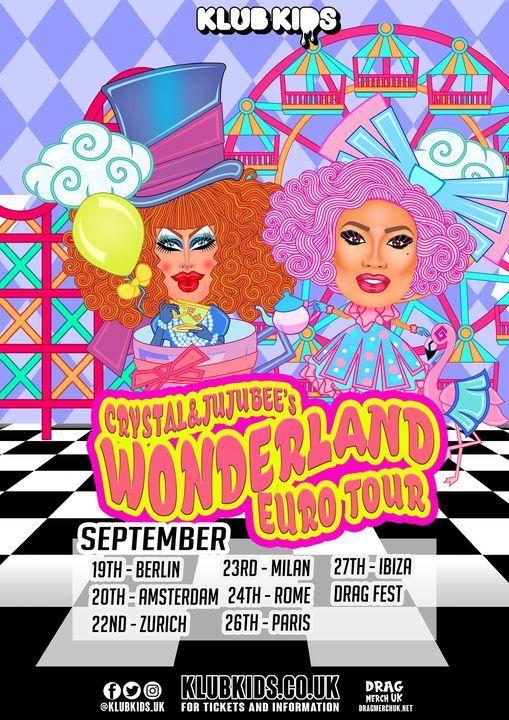 Klub Kids Amsterdam presents CRYSTAL METHYD & JUJUBEE's  Wonderland