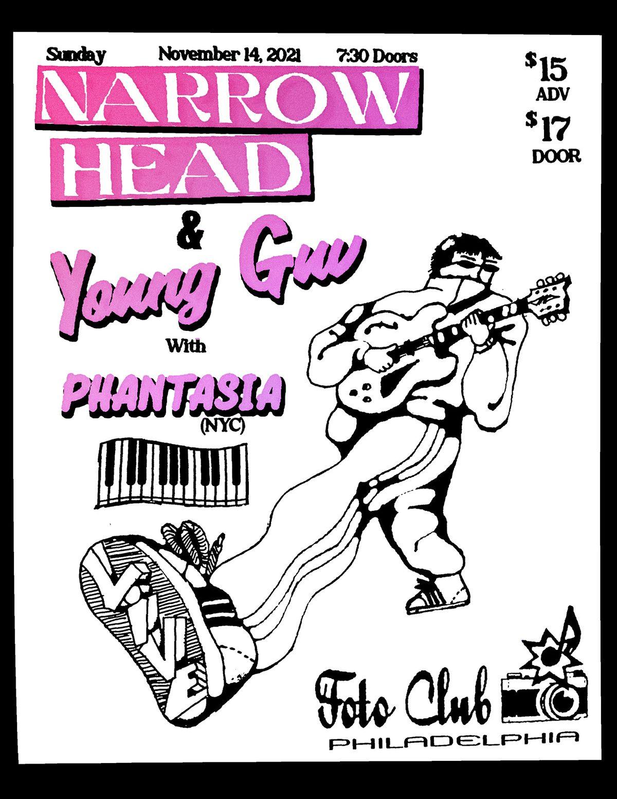 Narrow Head & Young Guv
