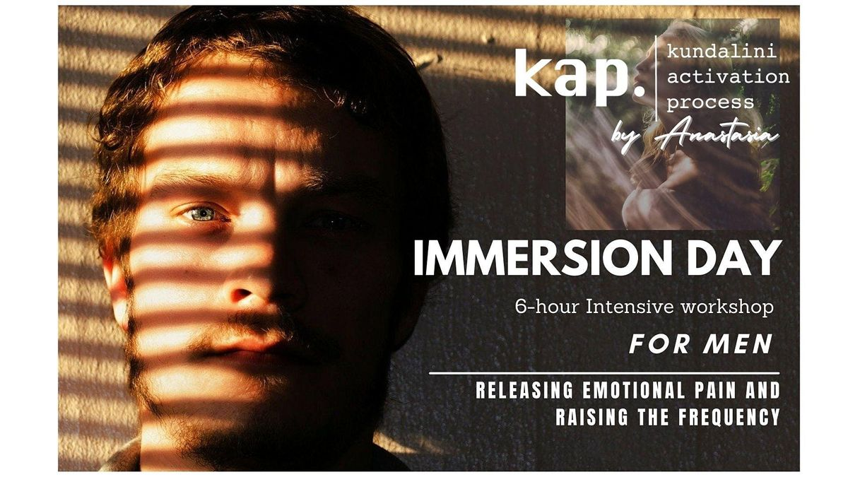 Kundalini Activation Process - Immersion for MEN.        EARLY BIRD tickets