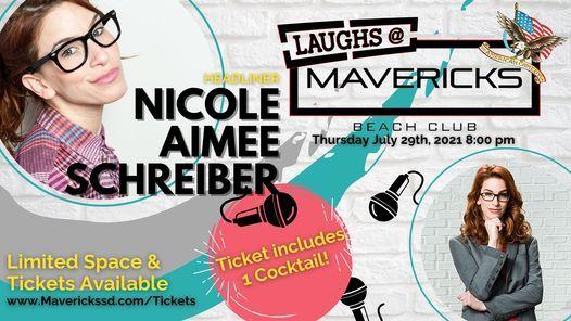 Mavericks Comedy Night with Nicole Aimee Schreiber