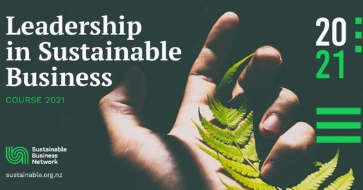 Leadership in Sustainable Business Course 2021