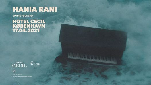 Hania Rani (PL) @Hotel Cecil, K\u00f8benhavn [flyttes til ny dato]