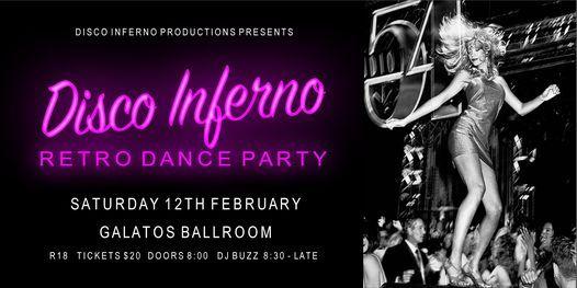 Disco Inferno Retro Dance Party
