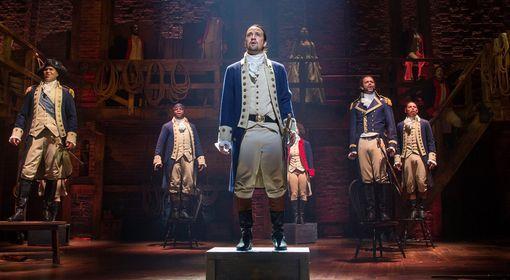 Hamilton Musical in Philadelphia