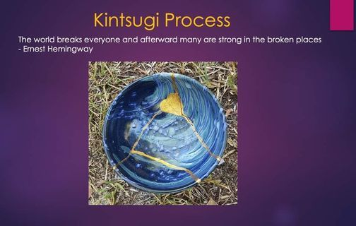 Kintsugi workshop for Personal Resilience-The Art of Repair