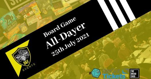 D&F Board Game All-Dayer
