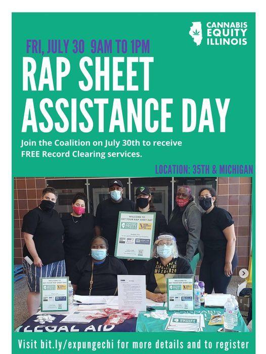RAP Sheet Assistance Day