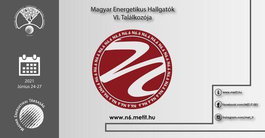 Magyar Energetikus Hallgat\u00f3k VI. Tal\u00e1lkoz\u00f3ja -N6.6