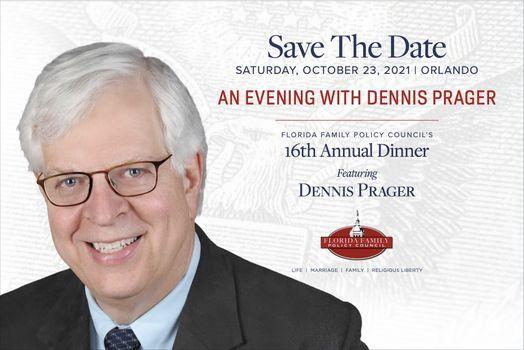 Florida Family Policy Council\u2019s 16th Anniversary Gala \u2013 Dennis Prager
