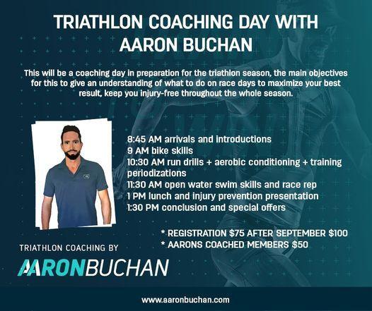 Triathlon Coaching Day with Aaron Buchan
