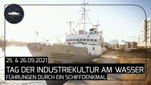 Tage der Industriekultur am Wasser: Motorschiff Stubnitz ROS-701 \/ F\u00fchrungen durch ein Schiffdenkmal