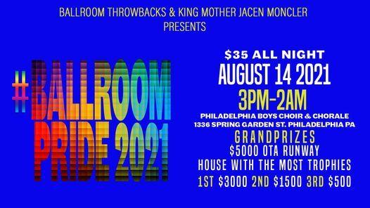 "Ballroom Throwbacks & Icon King Mother Jacen Supreme Moncler Presents ""BallroomPride2021"""